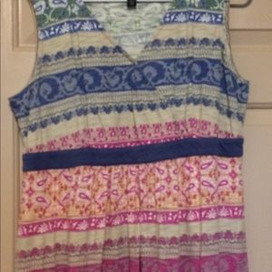 Tommy Hilfiger Goddess dress empire waist size 1X
